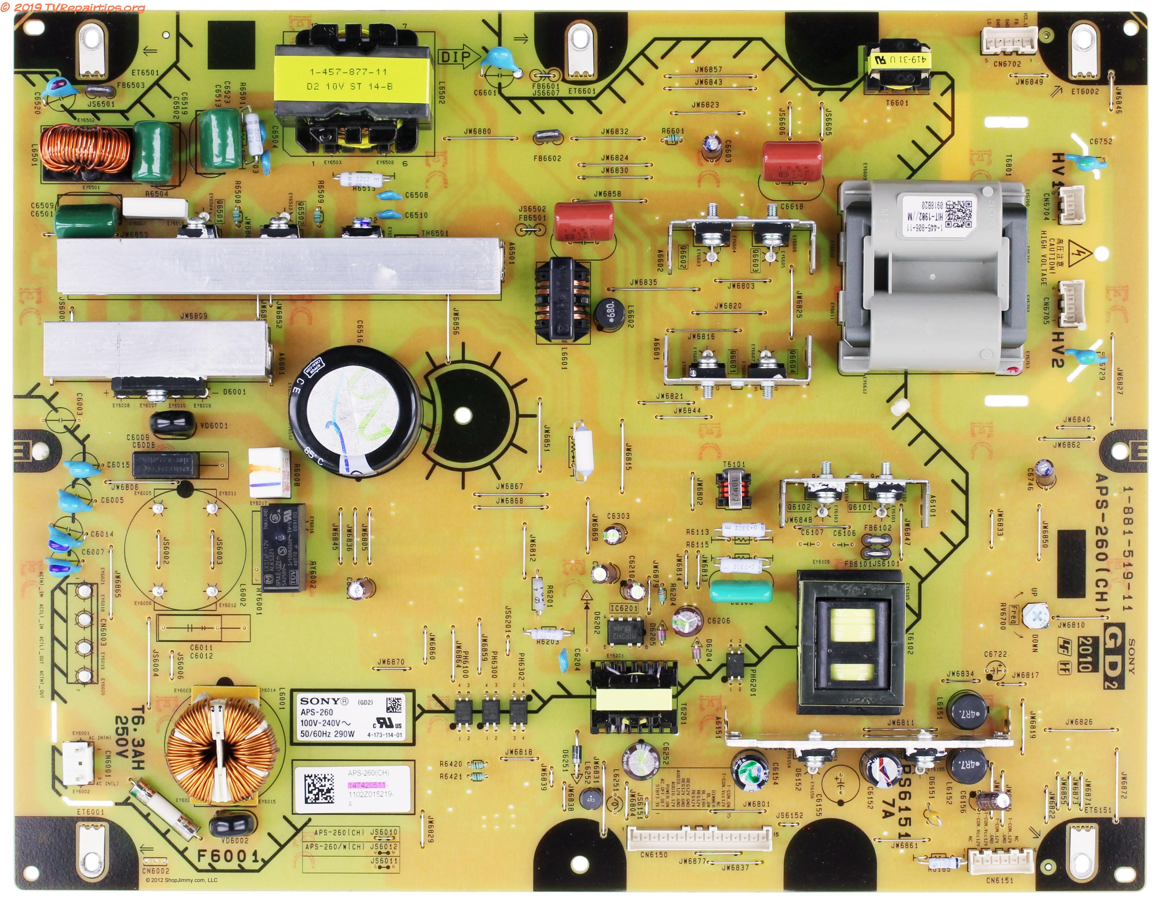 Tv Power Supply Schematic Diagrams Furthermore Tv Circuit Board Repair